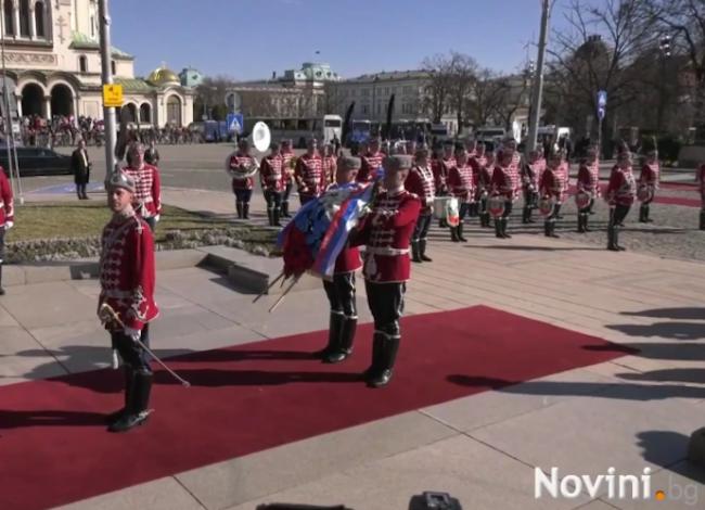 Борисов посрещна руския премиер Дмитрий Медведев