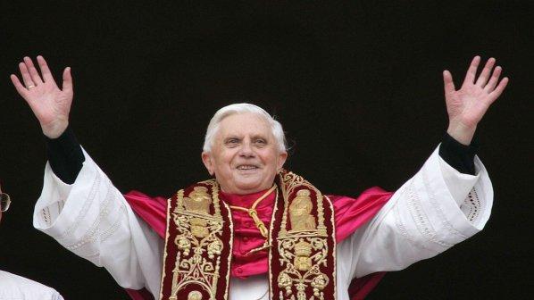 Папата говори с космоса