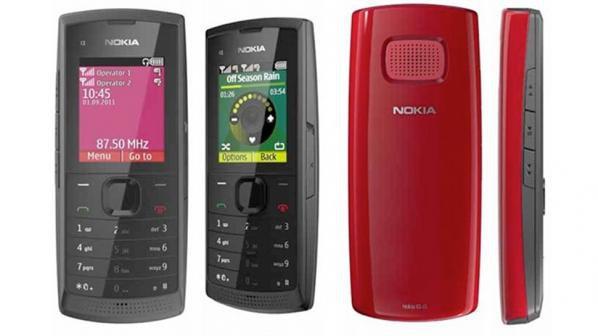 Nokia X1-01 - музикален телефон с мощен говорител