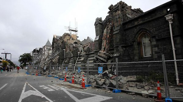 Земетресение с магнитуд 6 разтърси Нова Зеландия