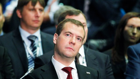 Медведев нямал разногласия с Путин