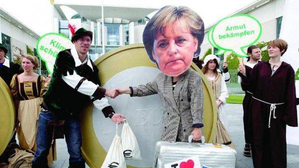 """""""Слабият канцлер"""" Меркел"""