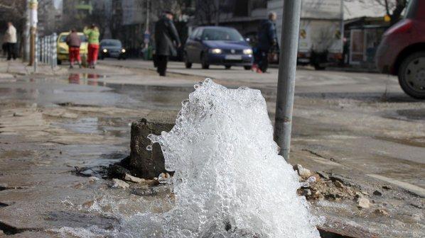 Временно спират водата в части  от София