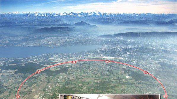 В Колайдера получиха компютърно изображение на Големия взрив