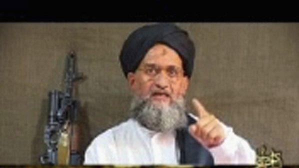Зауахири призова мюсюлманите да отмъстят на САЩ за смъртта на Осама