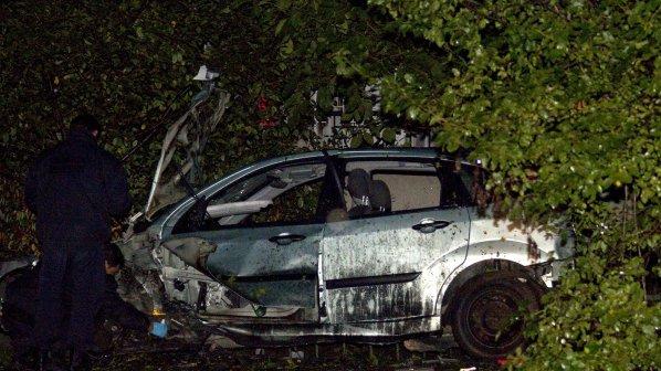 Един килограм тротил вдигнал във въздуха колата на Сашо Диков (видео)