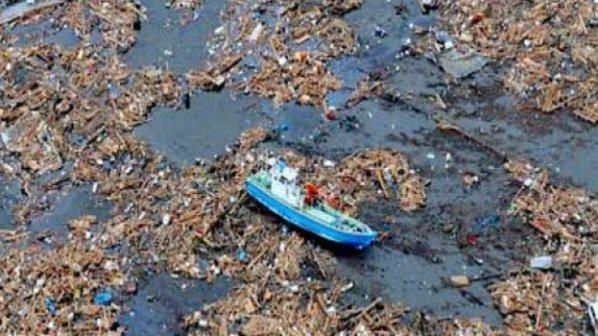 20 милиона тона боклук плува към Хаваите