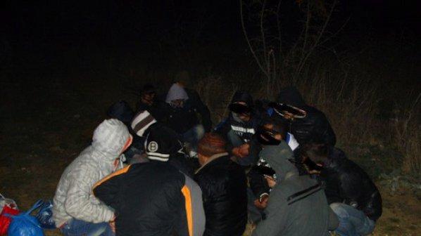 Задържаха 15 нелегални емигранти