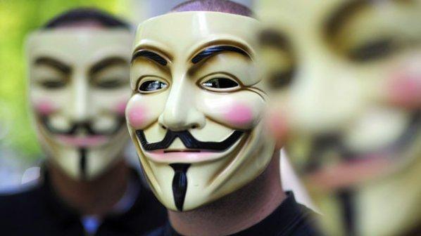 """""""Анонимните"""" са атакували сайта на словашкото правителство"""