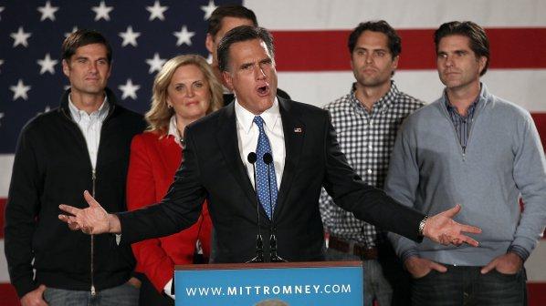 Мит Ромни поведе в надпреварата за президентска номинация