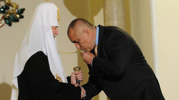Руският патриарх Кирил се срещна с Росен Плевнелиев и Бойко Борисов