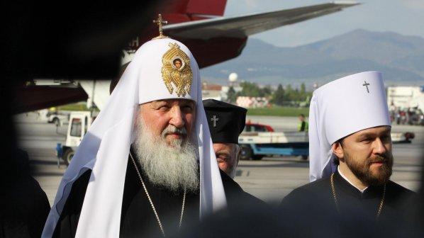 Руският патриарх: Нека мирът и благоденствието да са над българския народ