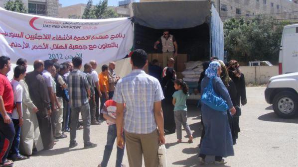 Около 5 000 сирийски бежанци са потърсили убежище в Йордания