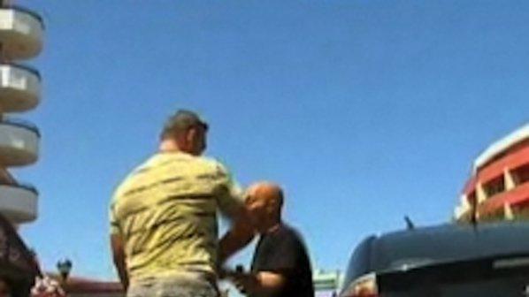 Хотелска охрана нападна екип на БНТ (снимка + видео)