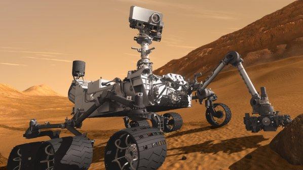 Откриха голям обект на Марс