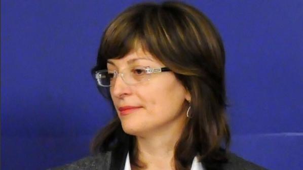 """Министър Захариева инспектира строежа на АМ """"Тракия"""""""