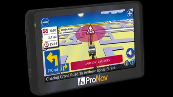 GPS предпазва велосипедистите от камиони