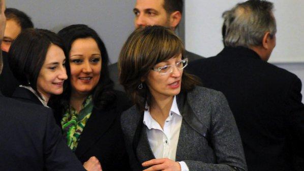 Екатерина Захариева става началник на Кабинета на Плевнелиев