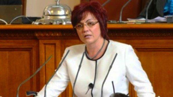 Корнелия Нинова: Цветанов е с единия крак в затвора