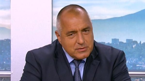 Борисов: Сидеров, ако не е лъжец, да излезе в 09.00 ч. от НС и ГЕРБ веднага ще излезе в 09.01 часа