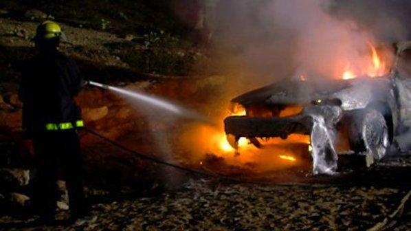 Запалиха поршето на пловдивски бандит