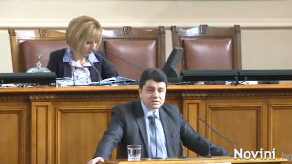 Бисеров се е подготвил за оттеглянето си, заподозря депутат от ГЕРБ