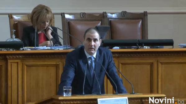 ГЕРБ и БСП спорят за новия закон за МВР (обновена+видео)