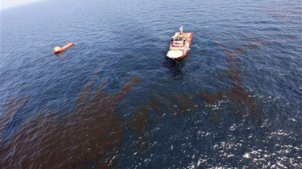 Два кораба се сблъскаха в Мексиканския залив, има изтичане на нефт