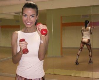 Аксиния стана персонален треньор по фитнес