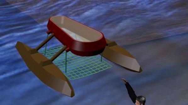 Ученик създаде робот за спасяване на удавници