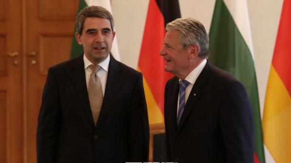 Плевнелиев и германският президент притеснени от политиката на Русия