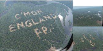 Фалшиво изсичане на дървета в Бразилия дава сили на Англия (снимки)
