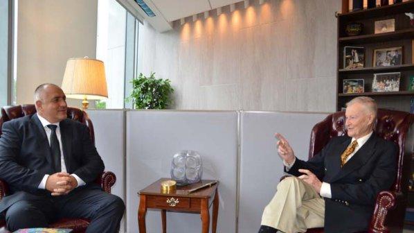 Збигнев Бжежински към Борисов: Вие сте най-знаковия български политик