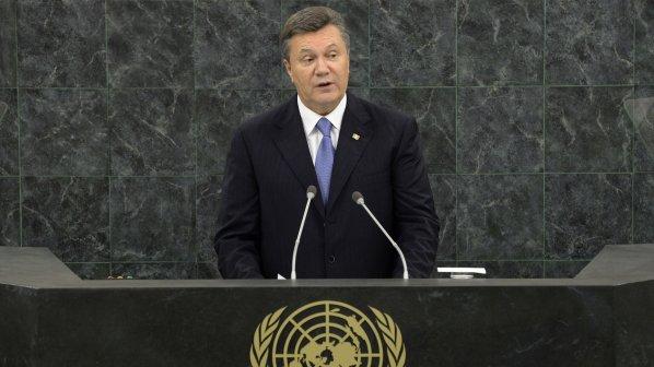 Бившият украински президент се жали срещу евросанкциите