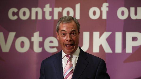 Спонсор на властта в Лондон пристана на Найджъл Фараж