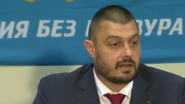Бареков: Няма да подкрепим правителство на ГЕРБ с премиер Борисов