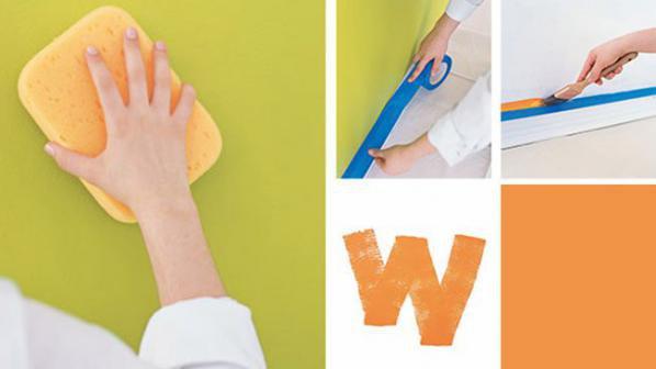 Боядисване на стая в 6 стъпки