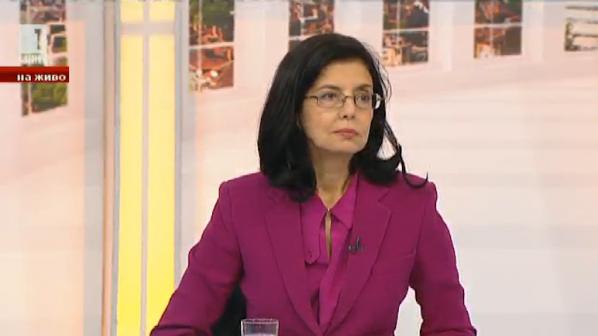 Кунева за поста министър на правосъдието: Не съм водила преговори и не съм приемала