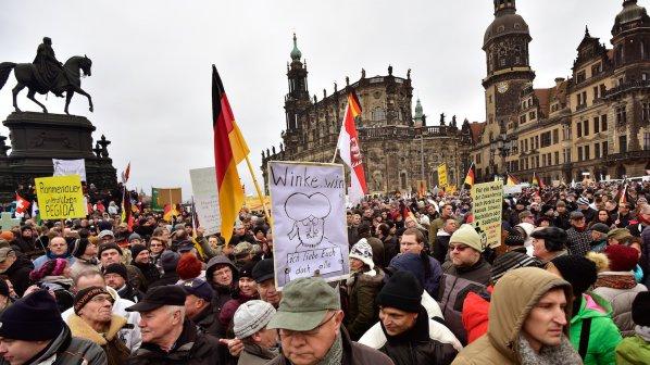 ПЕГИДА с нова демонстрация в Дрезден