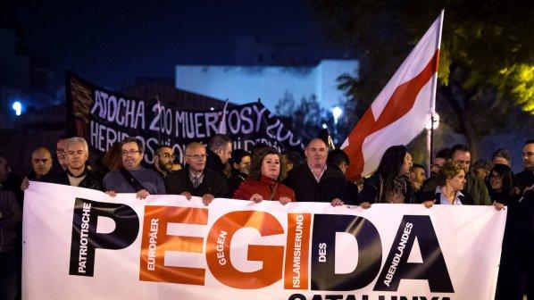 В Испания се състоя първата демонстрация на ПЕГИДА