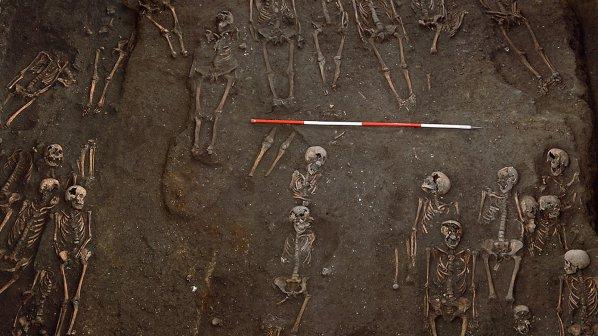 Средновековно гробище лежи под университета в Кеймбридж