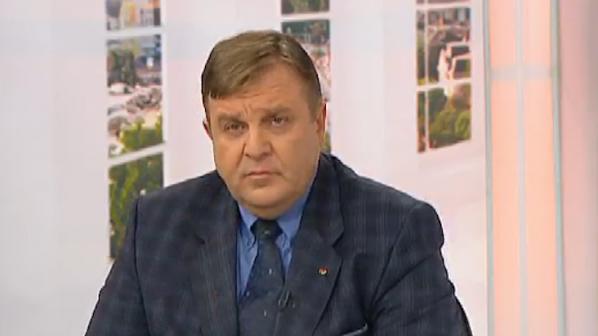 Каракачанов: Твърденията на Сидеров са пълни глупости