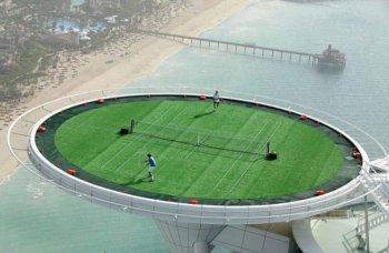 Дубай може да се сдобие и с подводен тенискорт