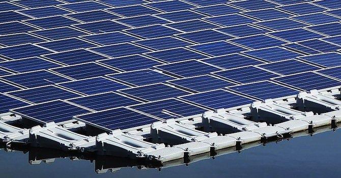 Япония строи най-големия плаващ соларен парк