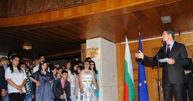 Плевнелиев сбъдва мечтите на 152 младежи от 40 институции
