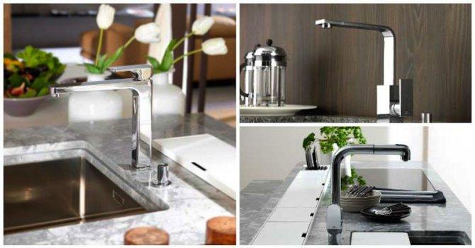 Модерни кухненски смесители с уникален дизайн