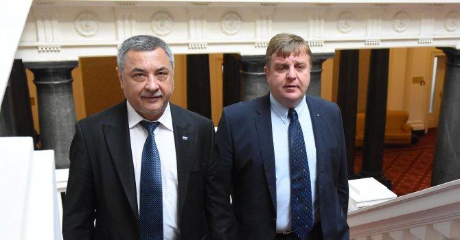 Патриотите доволни от Борисов, продължават да подкрепят кабинета (галерия+видео)