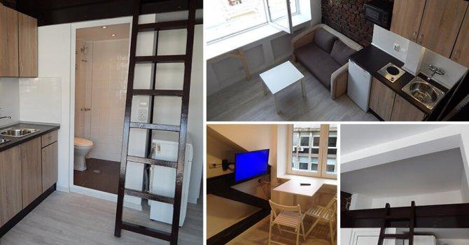 13,5 кв.м таван в София се превърна в луксозно ателие