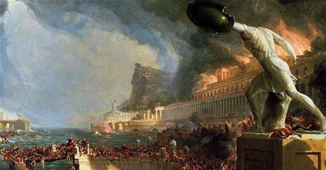 Вулкани затрили Римската империя
