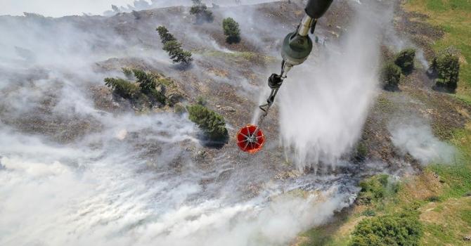 Тотално локализиран е пожарът в Рила